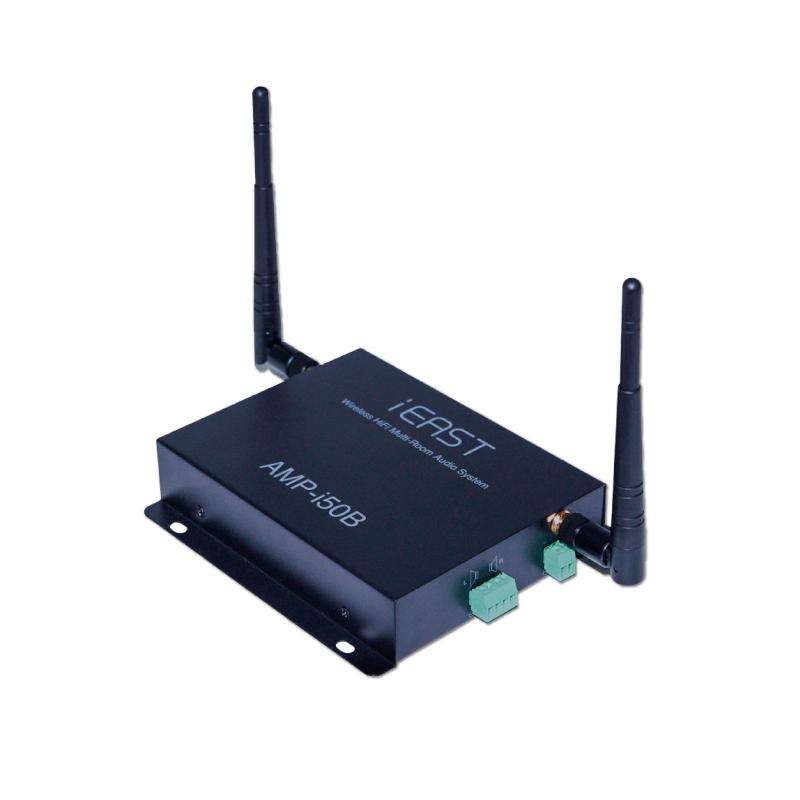 iEast StreamAmp i50b - Amplificador inalámbrico de audio funcional