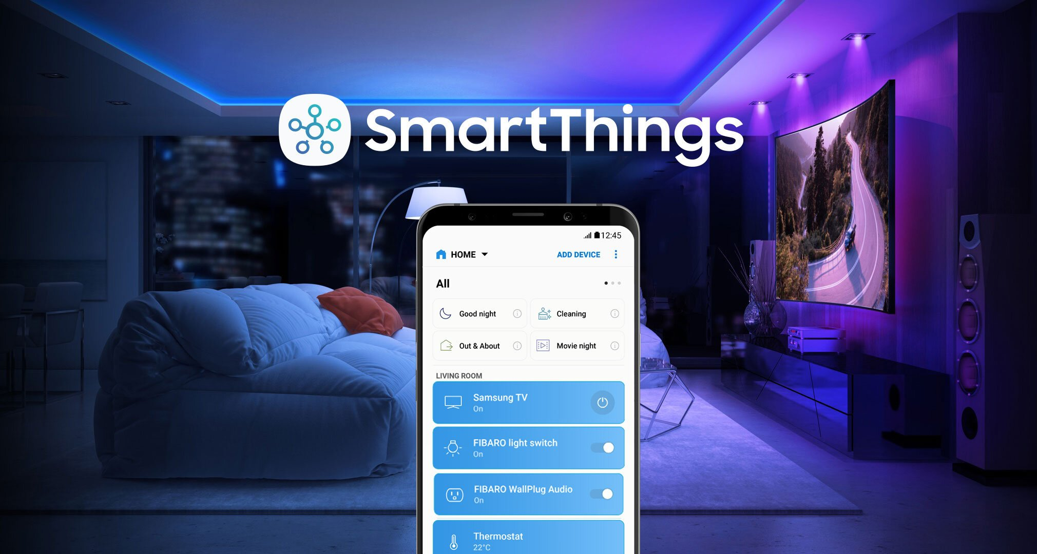 Works with SmartThings - Sinergia entre FIBARO y Samsung